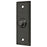 Deltana BBSR333 Rectangular Rope Door Bell Button