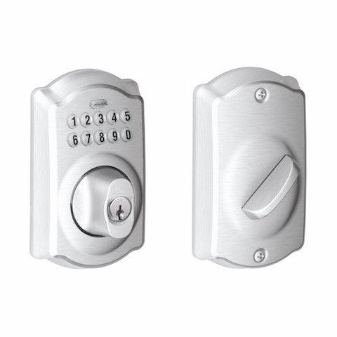 Schlage Keypad Deadbolt - Camelot Collection