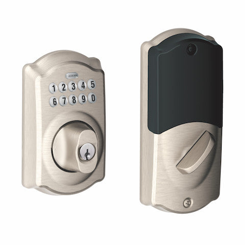 Schlage Connect Keypad Deadbolt - Camelot Collection