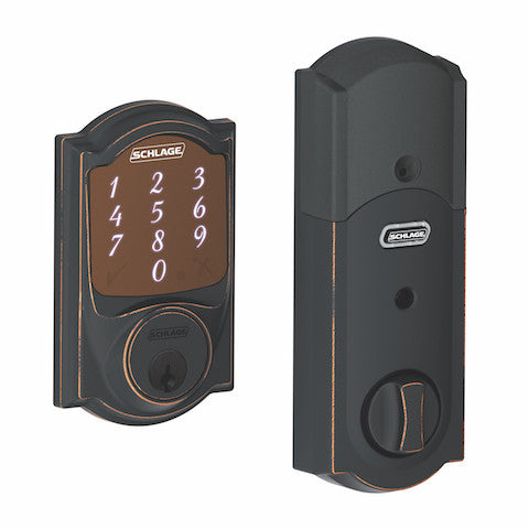 Schlage Sense Smart Deadbolt - Camelot Trim Collection