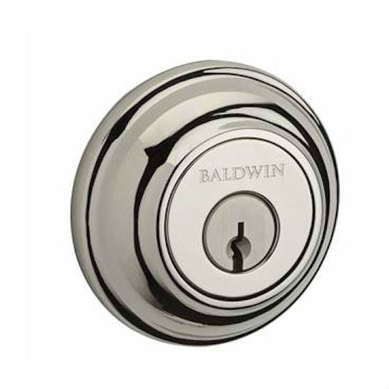Baldwin Reserve Traditional Round Single Cylinder Deadbolt Collection