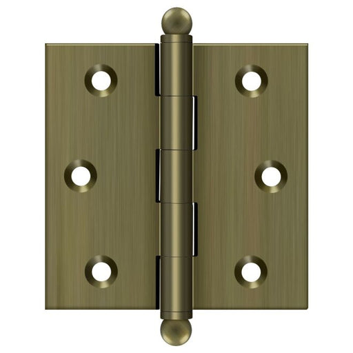 "Deltana 2 1/2"" Cabinet Hinge - Antique Brass"