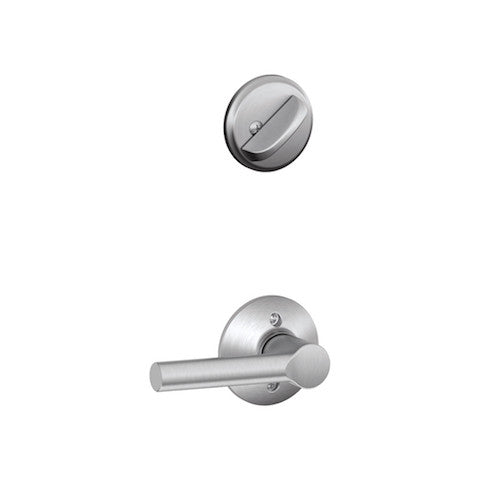 Schlage Century Single Cylinder Handleset - Satin Chrome Collection