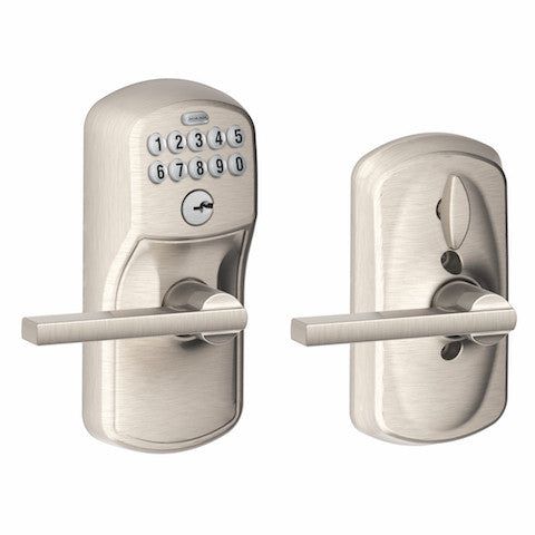 Schlage Keypad Lever With Flex Lock - Plymouth - Latitude Lever Collection