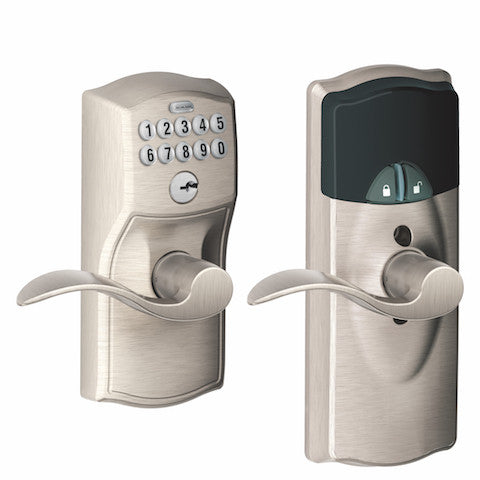 Schlage Connect Keypad Lever - Camelot Collection
