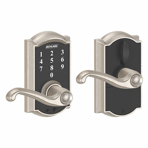Schlage Camelot Touch Flair Lever Collection