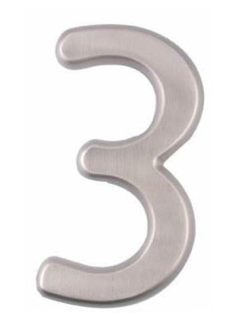 "4"" House Numbers With Concealed Screws"