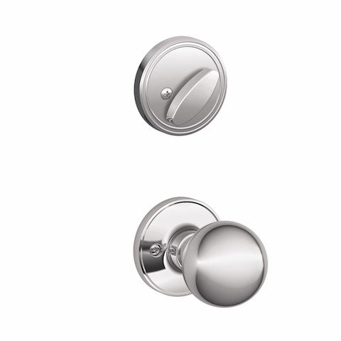 Schlage Barcelona Handleset - Bright Chrome Collection