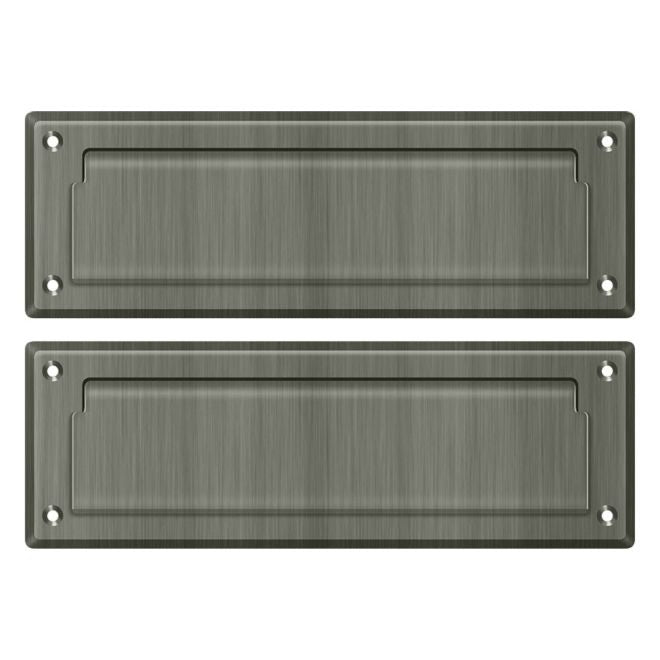"Deltana MS626 8 7/8"" Mail Slot with Interior Flap"
