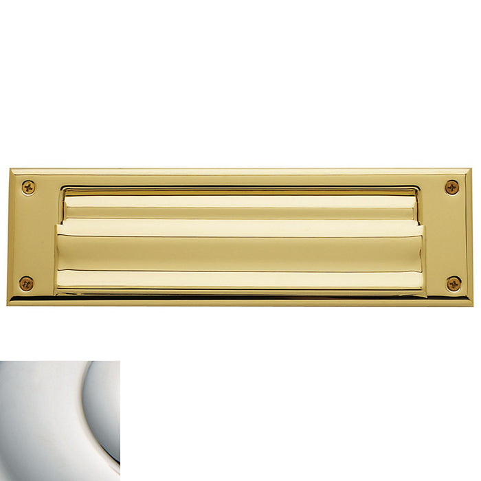 "Baldwin 10"" Mailbox Slot With Interior Cover"
