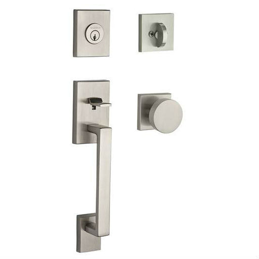 Baldwin Reserve La Jolla With Contemporary Knob And Contemporary Square Rose Collection