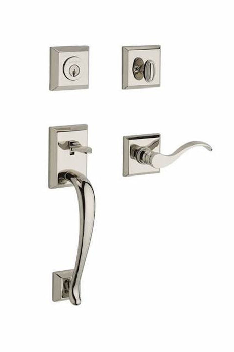 Baldwin Reserve Napa With Curve Lever And Traditional Square Rose Collection