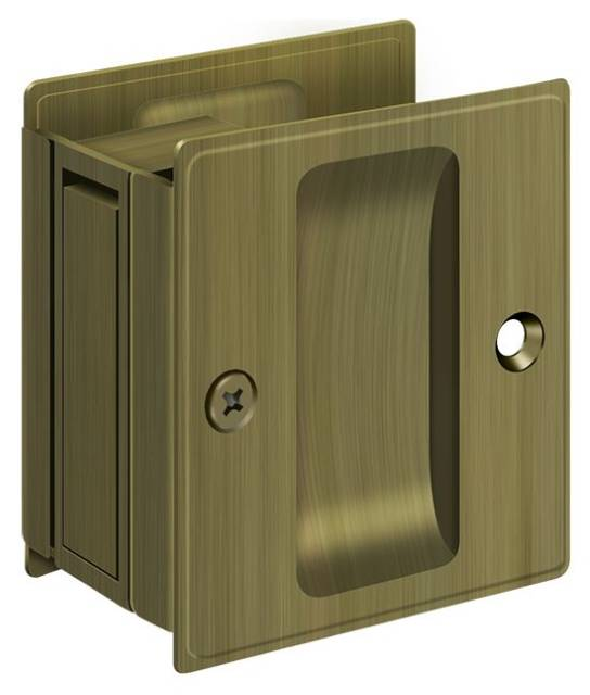 "Deltana 2 1/2"" x 2 3/4"" Pocket Door Passage"
