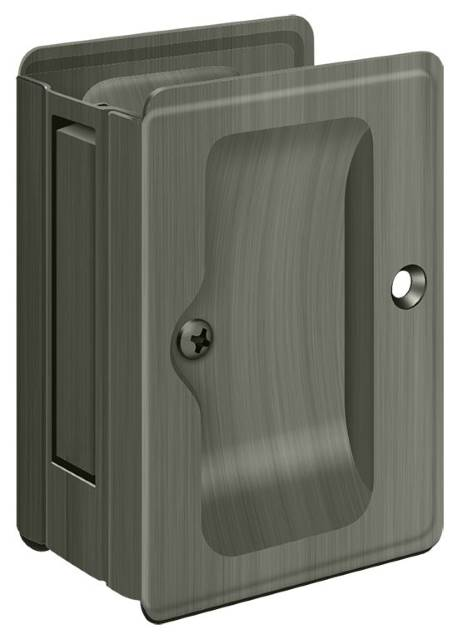 "Deltana 3 1/4"" x 2 1/4"" Pocket Door Passage"