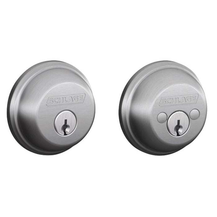 Schlage B Series Double Cylinder Deadbolt Collection