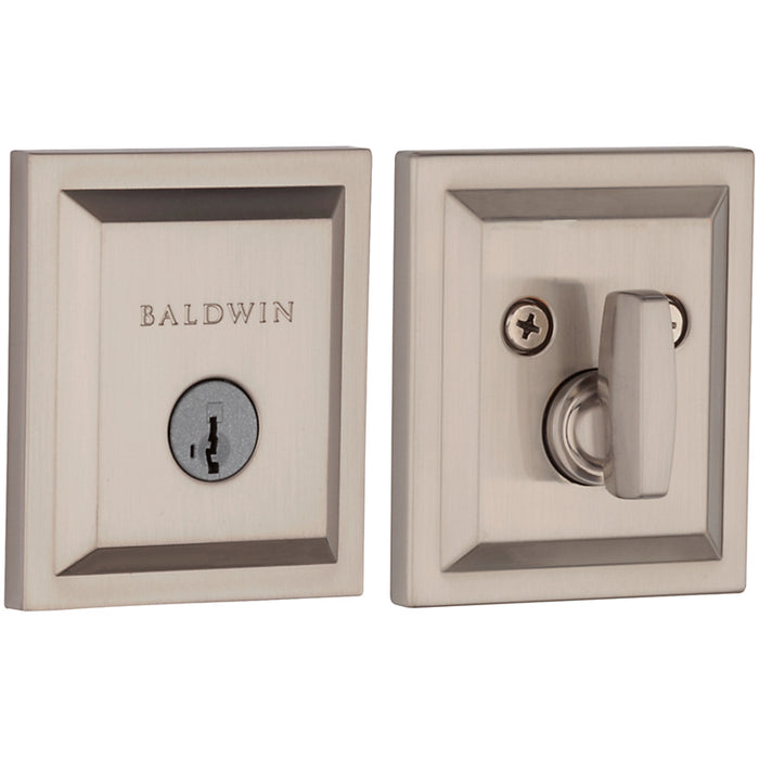 Baldwin Prestige Single Cylinder Torrey Pines Deadbolt Collection