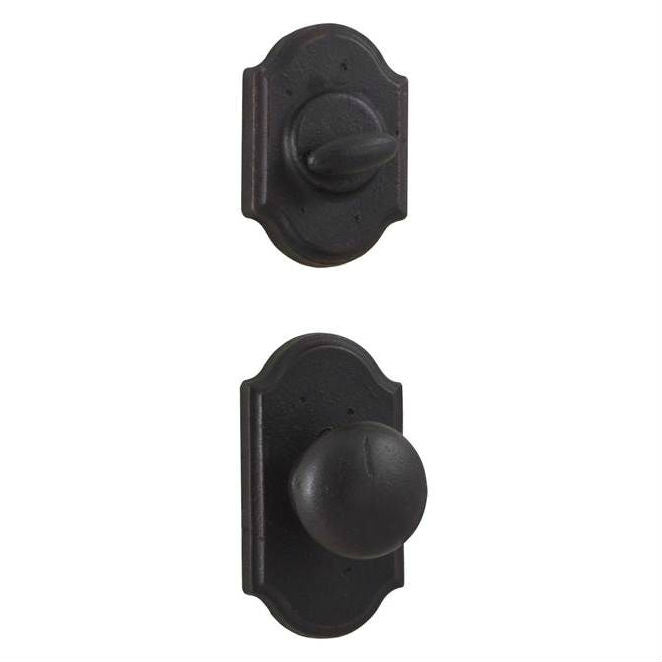 Weslock Molten Bronze Castletown Handleset - Oil Rubbed Bronze Collection