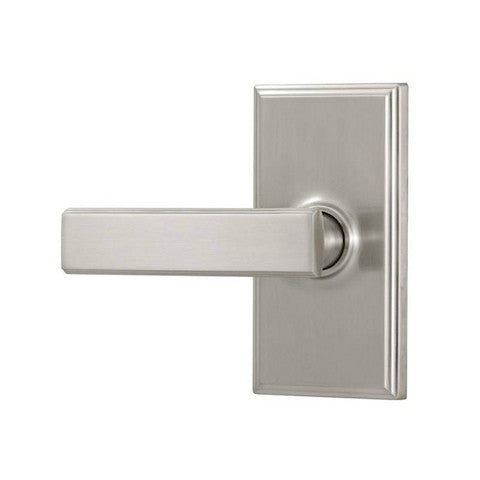 Weslock Utica Lever With Woodward Trim Collection