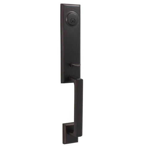 Weslock Woodward I Handleset - Oil Rubbed Bronze Collection