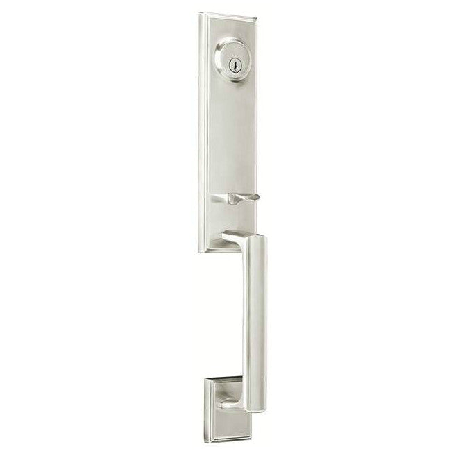 Weslock Woodward I Handleset - Satin Nickel Collection
