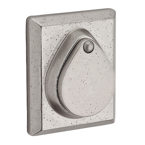 Baldwin Reserve Rustic Square Single Cylinder Deadbolt Collection