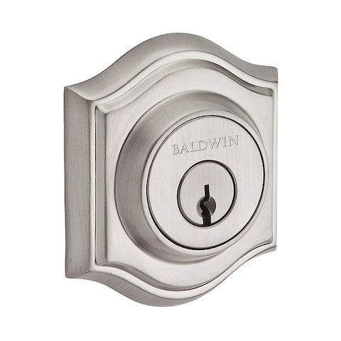 Baldwin Reserve Traditional Arch Single Cylinder Deadbolt Collection