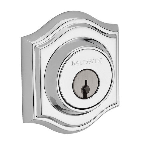 Baldwin Reserve Traditional Arch Double Cylinder Deadbolt Collection
