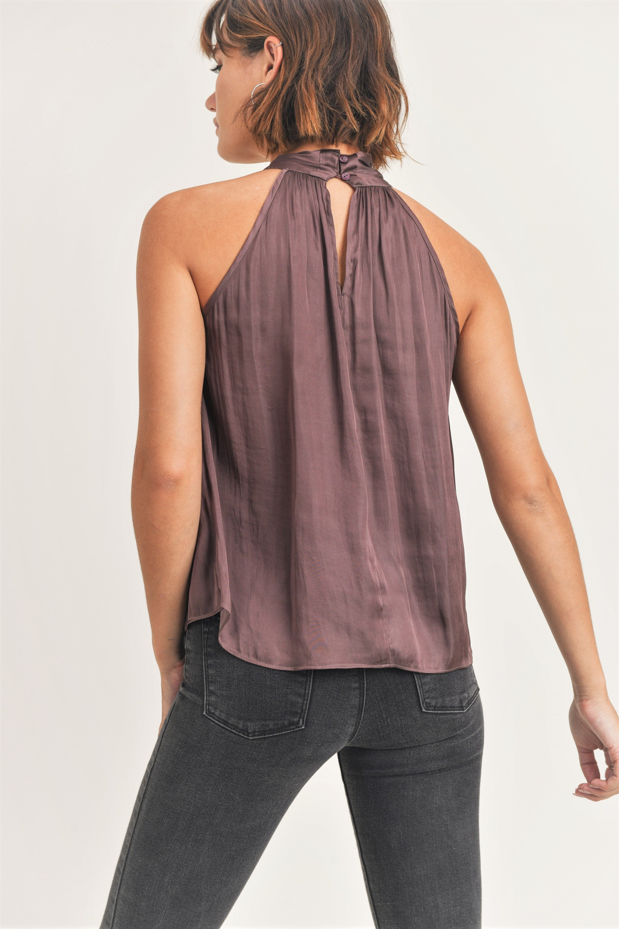Eleanor Halter Blouse