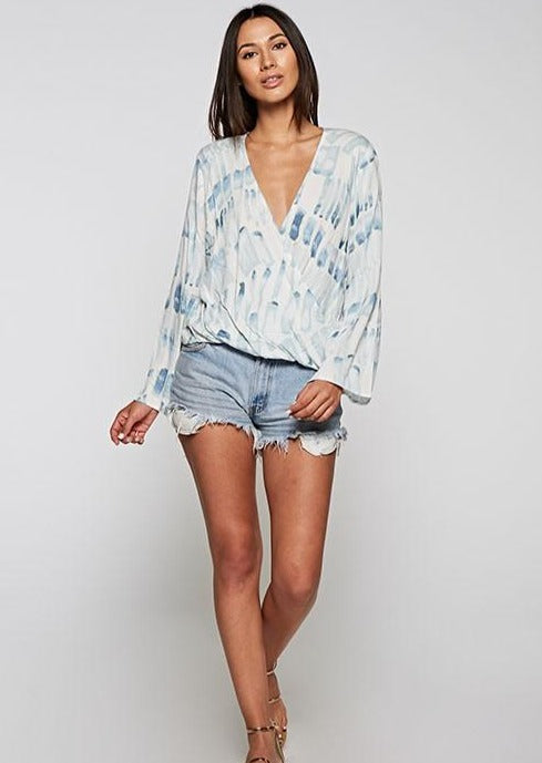 Diana Cross Front Blouse