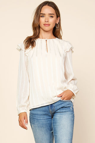 Spell Hendrix Blouse-Cream