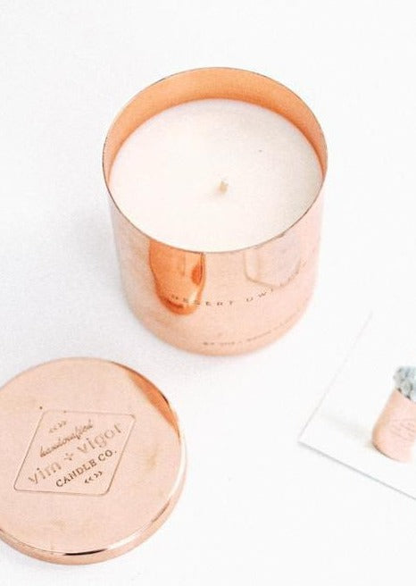 Prickly Pear and Dew Candle