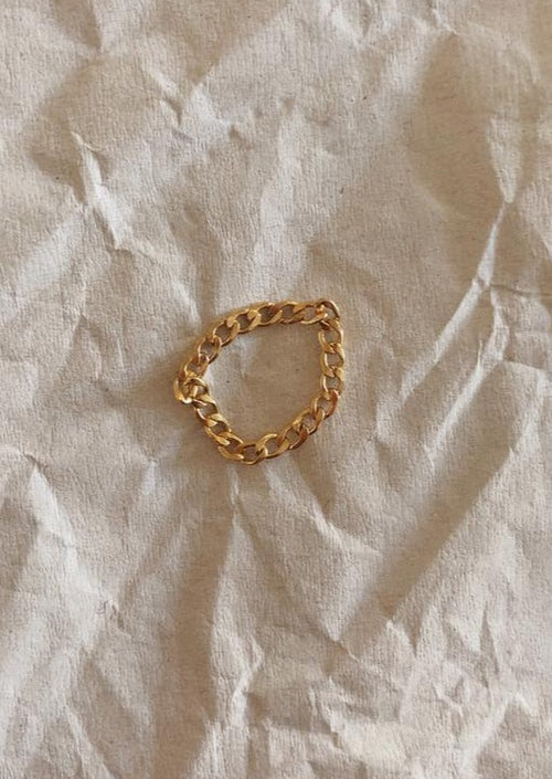 Flat Cuban Chain Ring