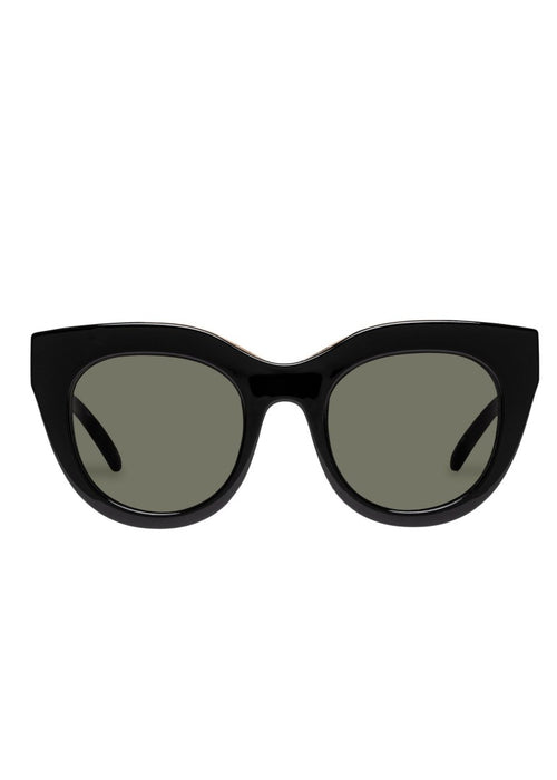 Air Heart Sunnies - BLACK/GOLD