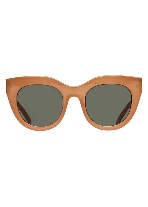 Air Heart Sunnies - CARAMEL/KHAKI