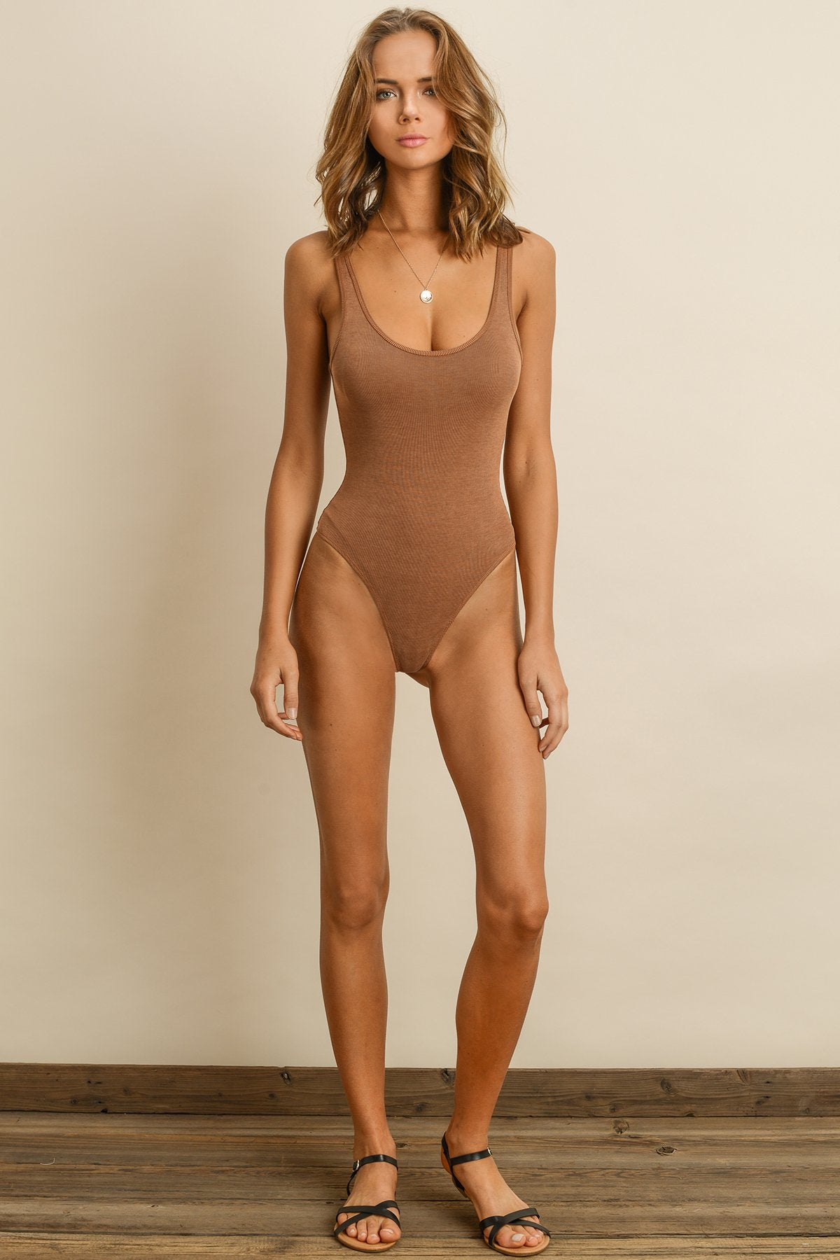 Superfine Ribbed Bodysuit