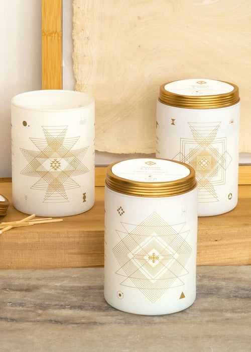 White Totem Candle