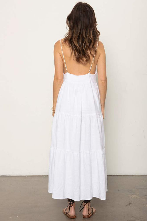 Memz Maxi Dress in White