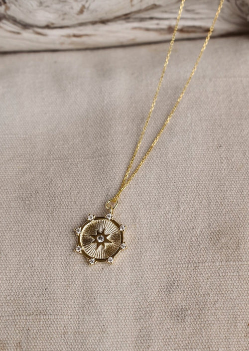 Halo Star Necklace