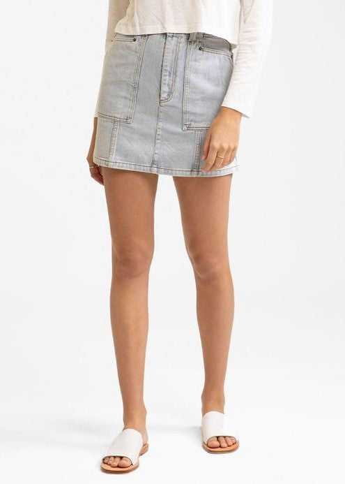 Runaway Bay Denim Skirt
