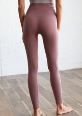 High-Rise Ribbed Legging
