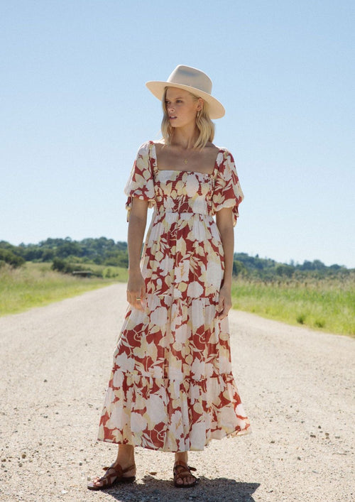 Zanthe Floral Maxi Dress