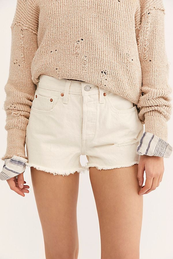 Levi's 501 High Rise Shorts-Natural Instincts