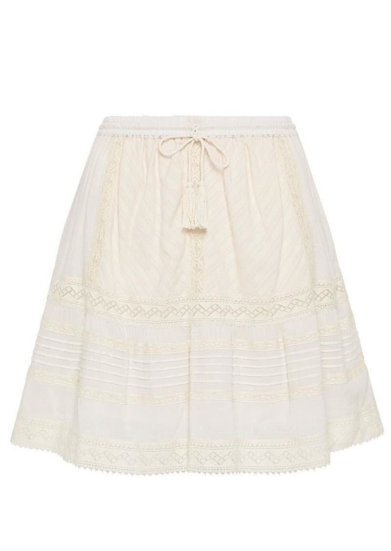 Cinder Mini Skirt-Off White