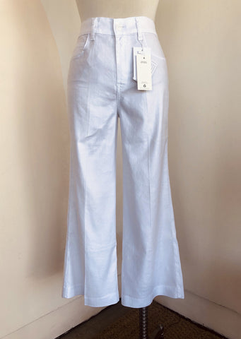 Bella Dahl Smocked Wide Leg Pants Spring Mint