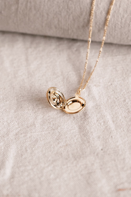 Small Round Locket