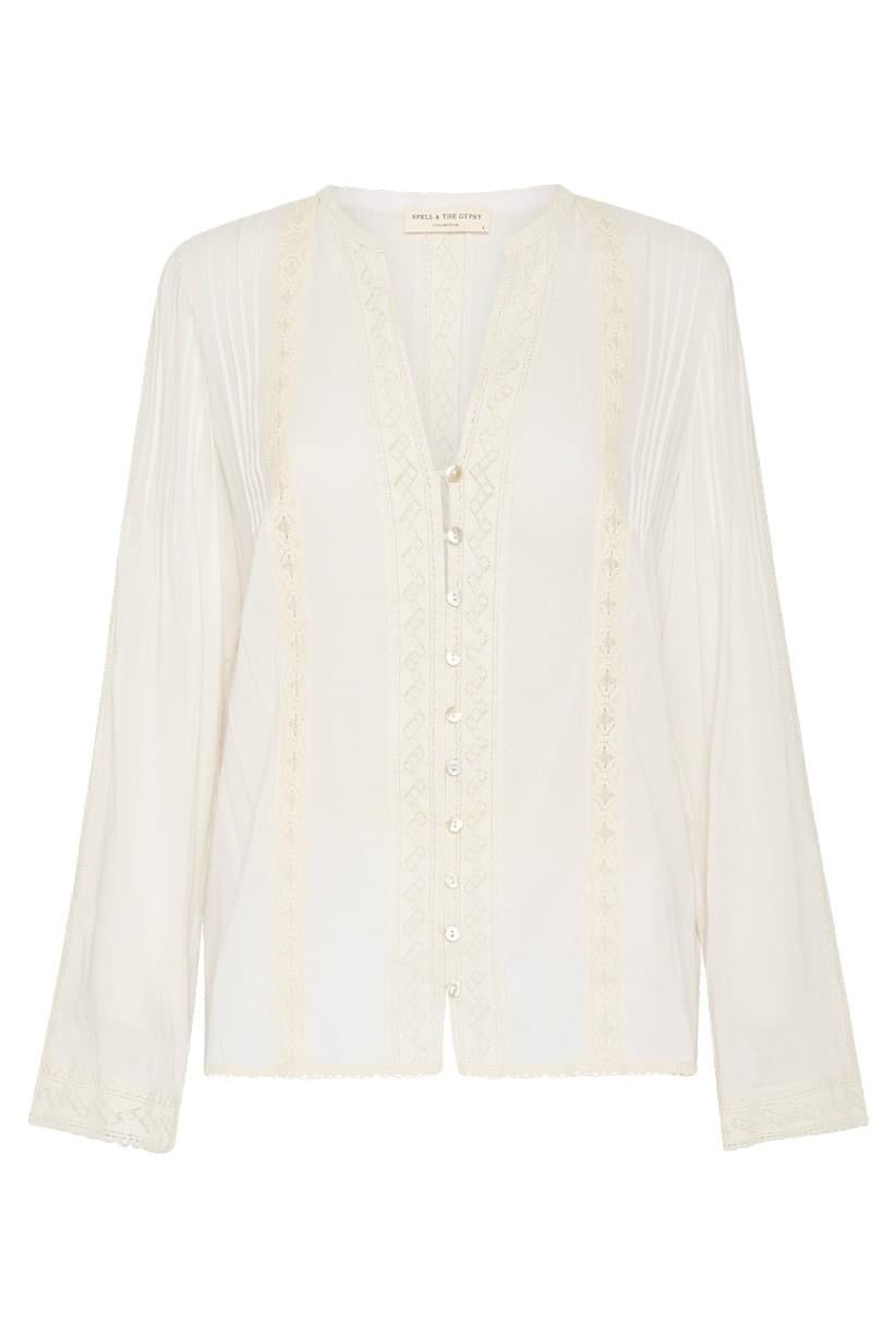 Cinder Blouse-Off White