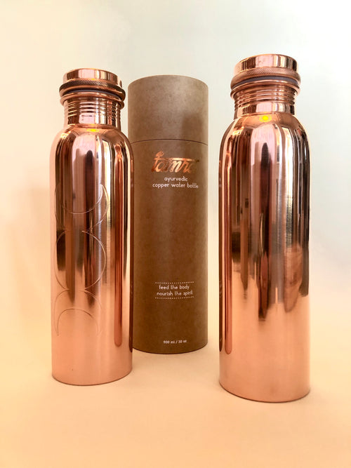 Tamra Ayurvedic Copper Water Bottles