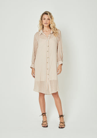 Jasmine Tibet Stripe Dress