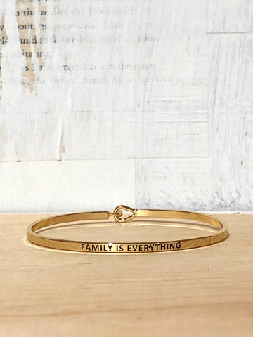 Dear Mom: I Love You, Bangle