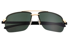Simplify Lennox Polarized Sunglasses - Gold/Black
